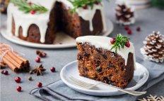 Brandintas Kalėdinis pyragas su džiovintais vaisiais