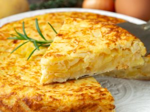 Ispaniška bulvių tortilija