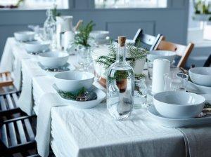 Balta žiemos pasaka, arba kaip prie vieno stalo susodinti didelę šeimą?