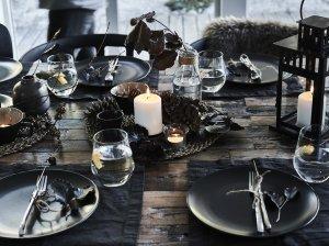Svečiuose pas viengungį: solidus Kalėdų stalas be didelių pastangų