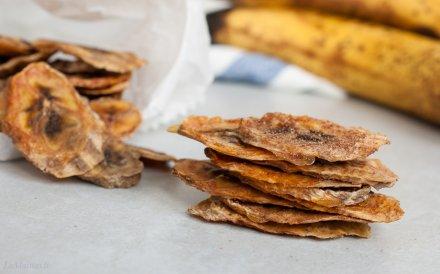 Naminiai bananų traškučiai - rodome kaip juos pasigaminti patiems be jokio cukraus ir papildomų riebalų!