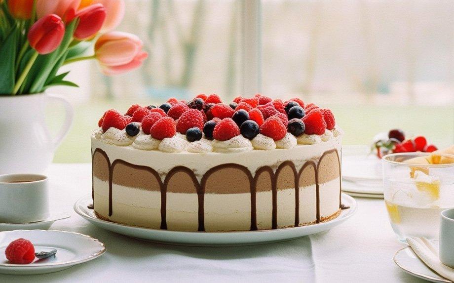 Nekepti tortai pyragai