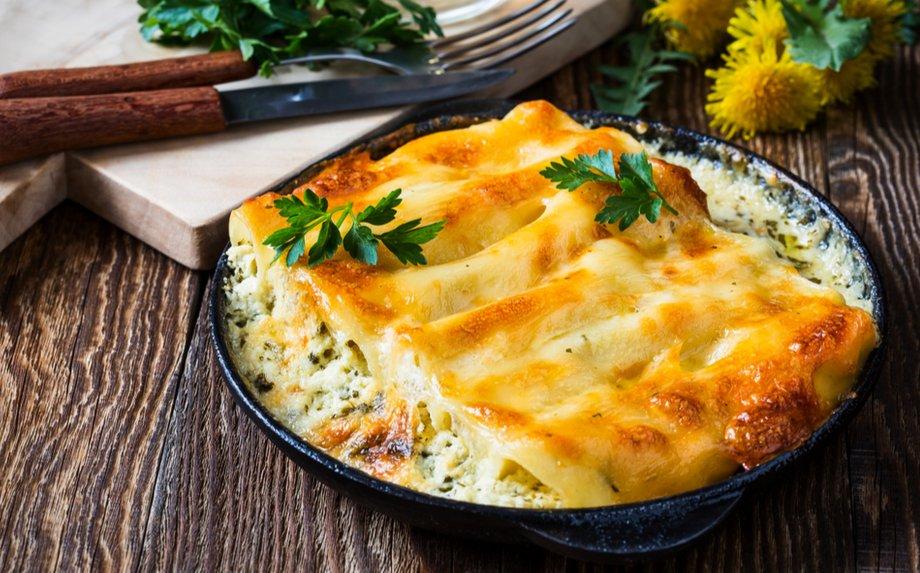 Įdaryti makaronai Cannelloni