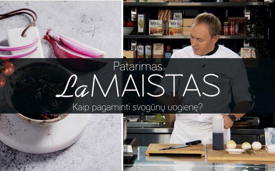 Kaip pagaminti svogūnų uogienę?