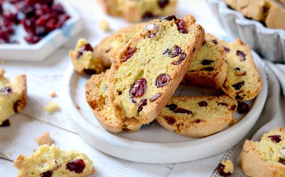 Itališki biscotti sausainiai