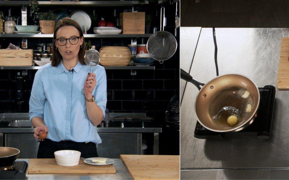 Kaip paruošti žavius keptus arba be lukšto virtus kiaušinius?