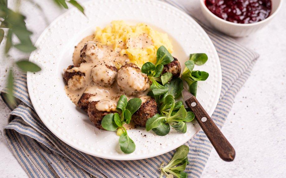 Švediški mėsos kukuliai kukuliukai