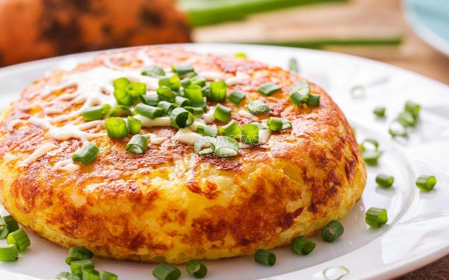 širdies sveikatos bulvių pleišto receptas