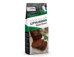 Miltinis mišinys lietuviško stiliaus juodai duonai