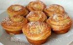 Krafinai - puikieji kruasanų keksiukai