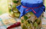 Šaltai marinuoti agurkai su svogūnais žiemai