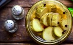 Traškūs marinuoti agurkai