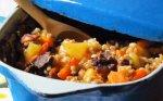 Perlinių kruopų troškinys su mėsa