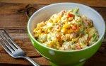 Bulvių salotos su kiaušiniais