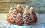 Varškės pyragas Apsnigtos eglės