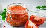 Pomidorų ir obuolių padažas