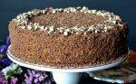Šokoladinis - karamelinis tortas