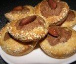 Dvispalviai sausainiai su migdolais