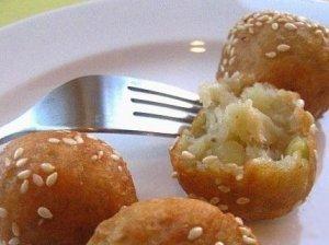 Sūrio-bulvių rutuliukai