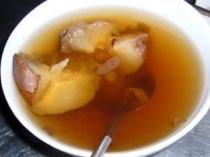 Obuolių ir kriaušių saldi sriuba
