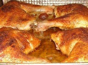 Traški vištiena su prieskoniais (šventėms ir kas dienai)
