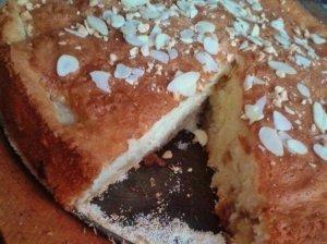 Paprastas obuolių pyragas su prieskoniais