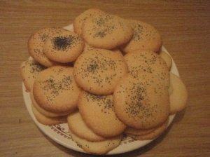 Pūkūčių sausainiai su aguonomis