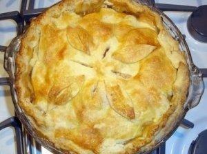 Kaimiškas obuolių pyragas