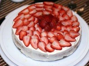Gaivus vaisinis pyragas