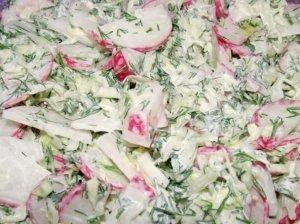 Firminės pavasario salotos