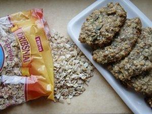 Penkių grūdų sausainiai