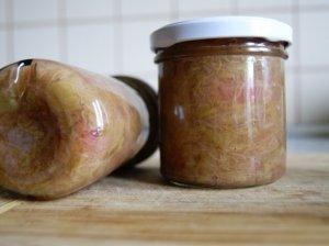 Rabarbarų džemas