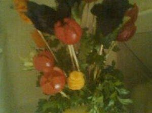 Daržovių puokštė