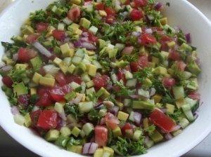 Avokado salsa