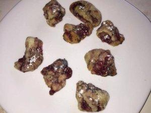 Avietiniai vyniotinio sausainiai su aguonomis
