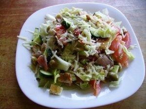 Gurmaniškos  salotos pagal L.M.