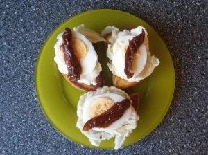 Pusryčių sumuštiniai.