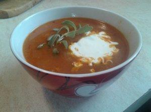 Pomidorų moliūgų sriuba