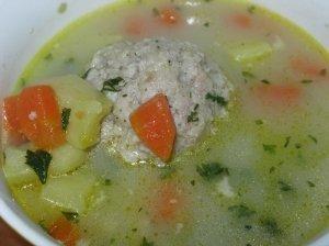 Daržovių sriuba su kukuliais