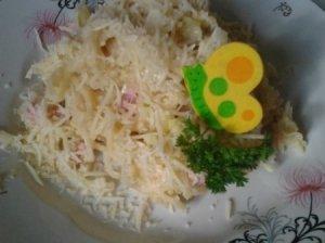 Sūrio ir makaronų patiekalas šiltam vakarui