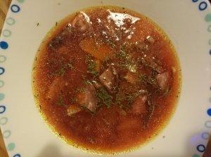 Maistinga burokėlių sriuba
