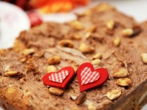 Greitas Valentino pyragas su kondensuotu pienu