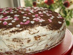 Maskarponės tortas ale Tiramisu