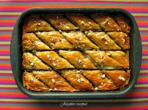 Baklava - šiltųjų kraštų saldumynas su riešutais