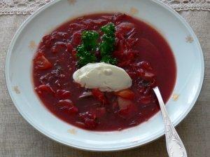 Daržovių sriuba su marinuotais baravykais
