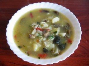 Mamos mėgstama grybų sriuba