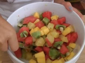 Egzotiškos vaisių salotos