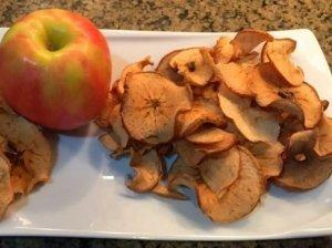 Obuolių traškučiai
