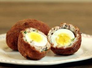 Traškūs kukulaičiai su virtais kiaušiniais