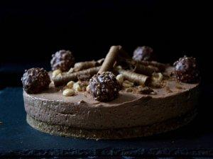 Sūrio pyragas su Nutella